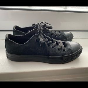 Converse Shoes - All Black Converse (NEW)